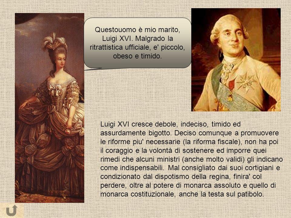 Questouomo è mio marito, Luigi XVI