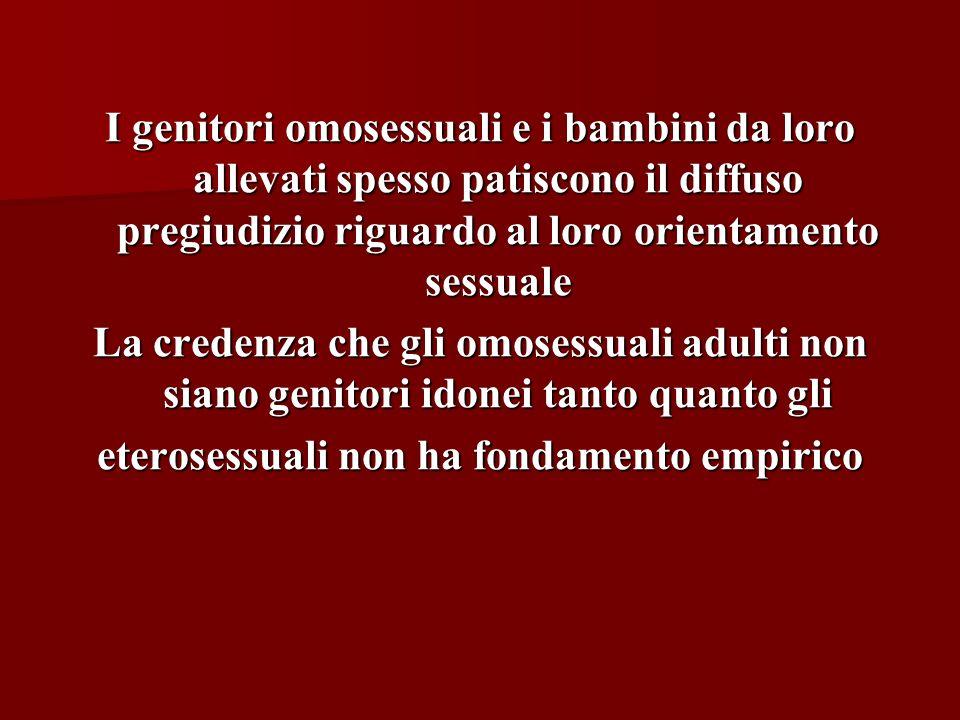eterosessuali non ha fondamento empirico