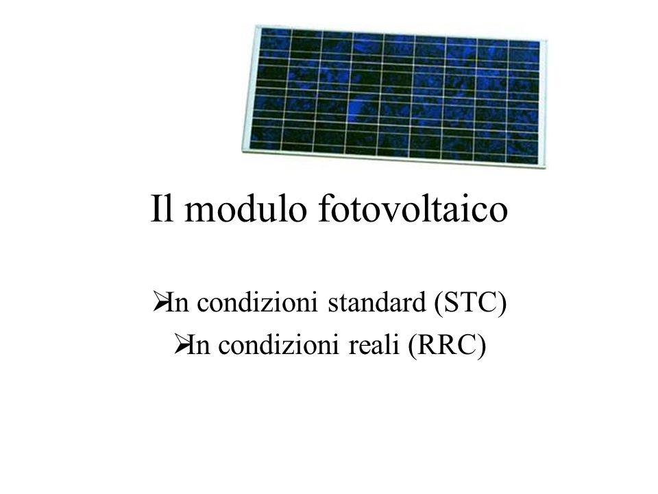Il modulo fotovoltaico