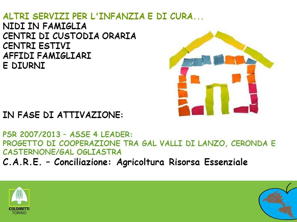 C.A.R.E. – Conciliazione: Agricoltura Risorsa Essenziale