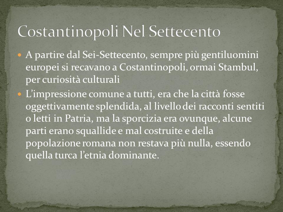 Costantinopoli Nel Settecento