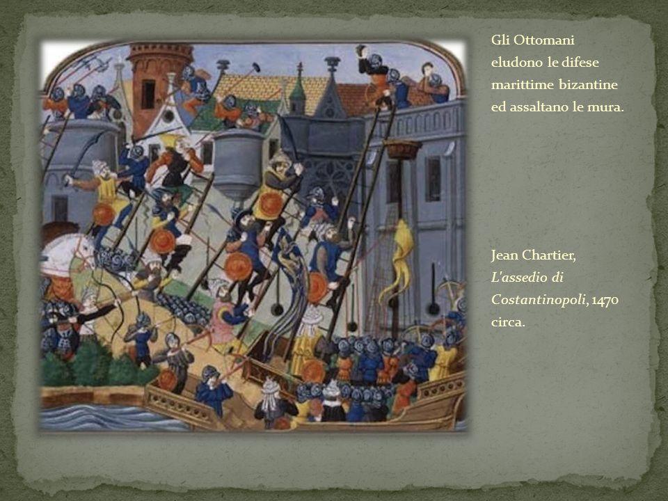 Gli Ottomani eludono le difese marittime bizantine ed assaltano le mura.