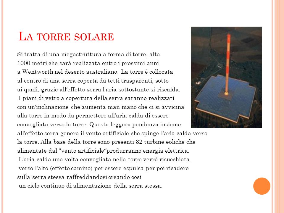 La torre solare