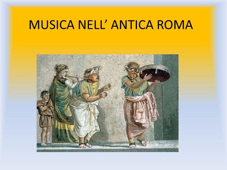 MUSICA NELL' ANTICA ROMA