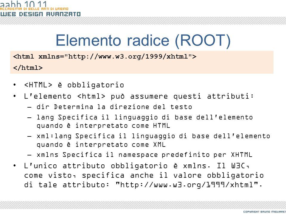 Elemento radice (ROOT)