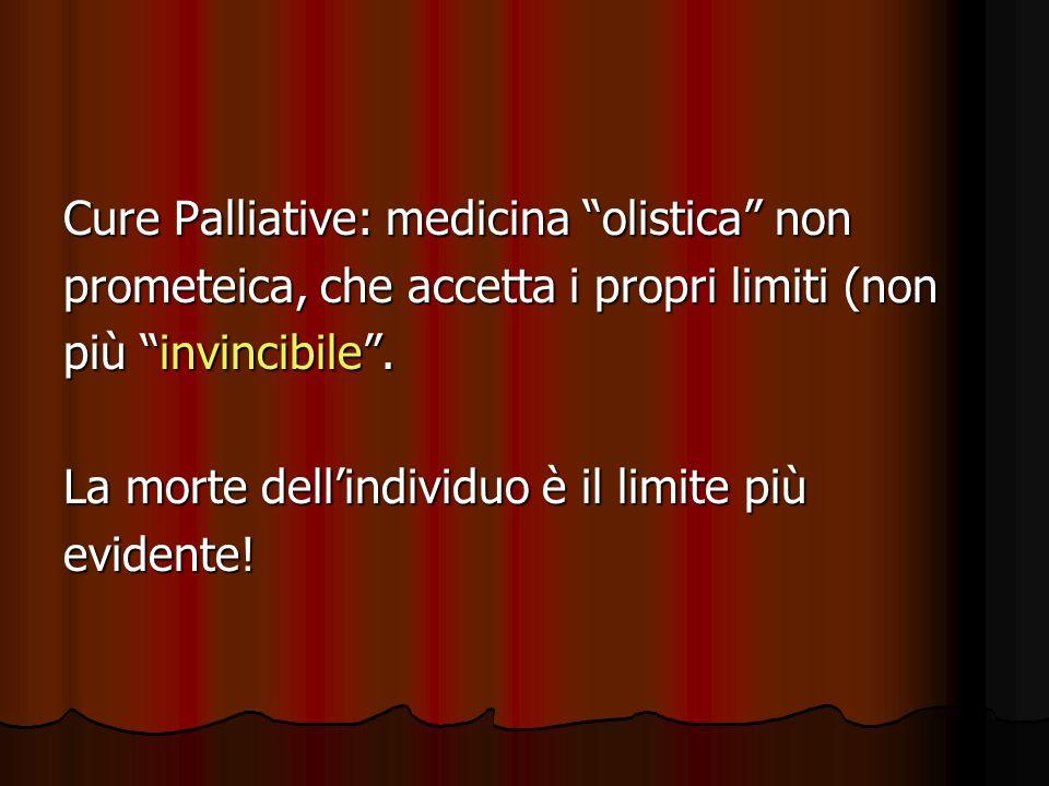 Cure Palliative: medicina olistica non