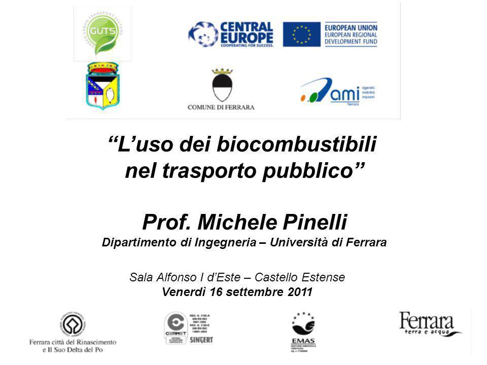 L'uso dei biocombustibili nel trasporto pubblico