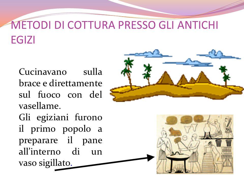 METODI DI COTTURA PRESSO GLI ANTICHI EGIZI