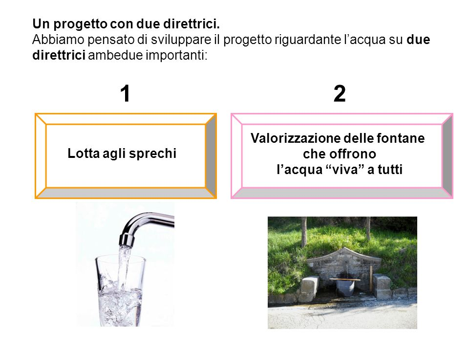 Valorizzazione delle fontane