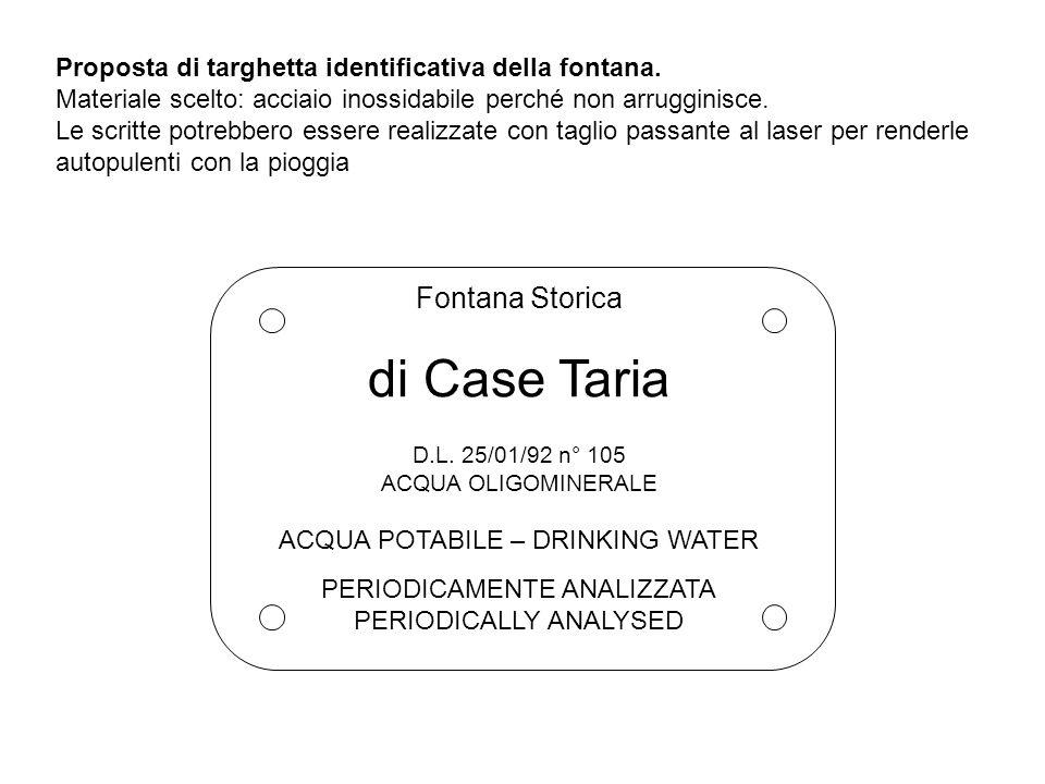 di Case Taria Fontana Storica