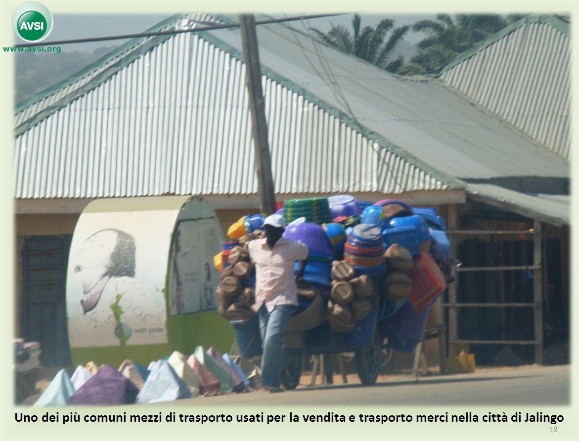 Uno dei più comuni mezzi di trasporto usati per la vendita e trasporto merci nella città di Jalingo