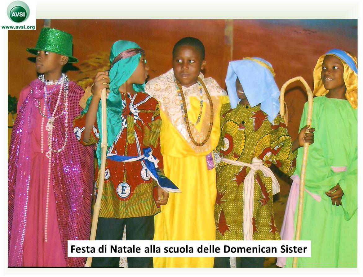 Festa di Natale alla scuola delle Domenican Sister