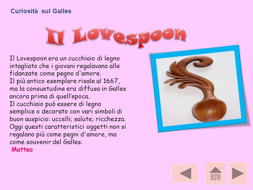 Il Lovespoon Curiosità sul Galles