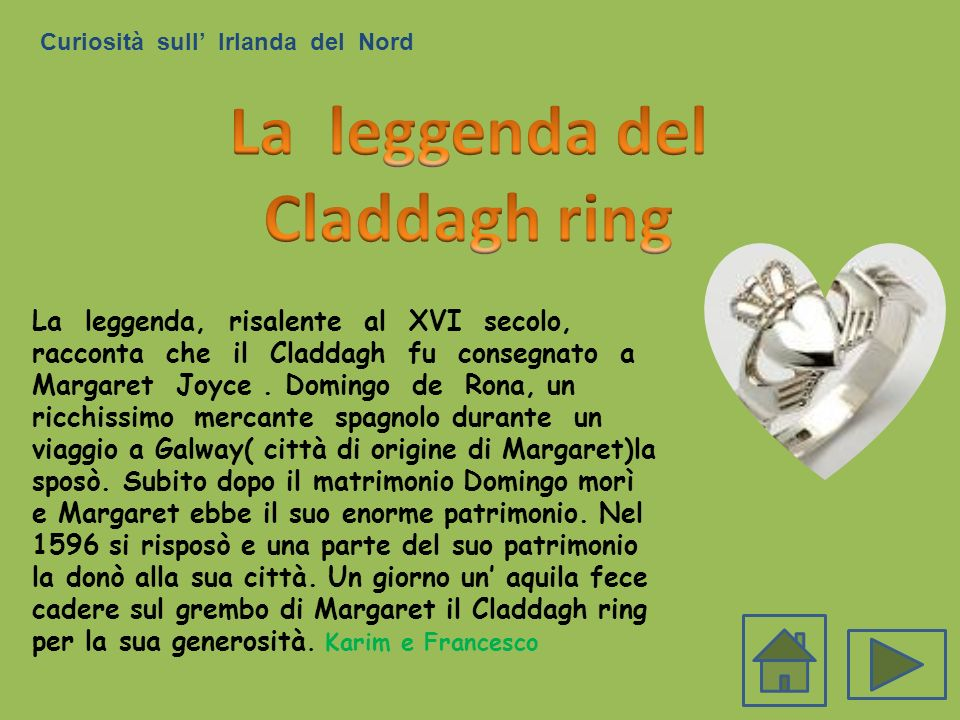 La leggenda del Claddagh ring