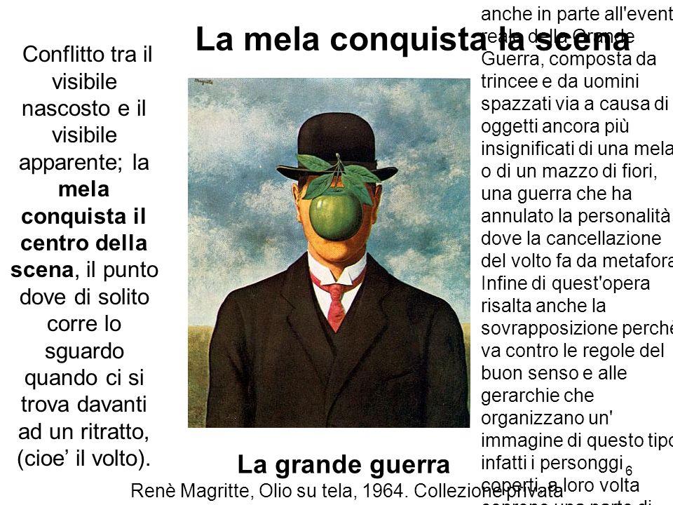 Renè Magritte, Olio su tela, 1964. Collezione privata