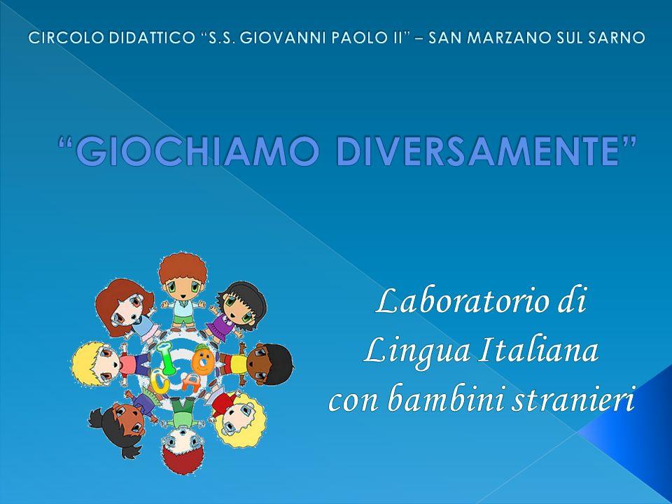 Laboratorio di Lingua Italiana con bambini stranieri