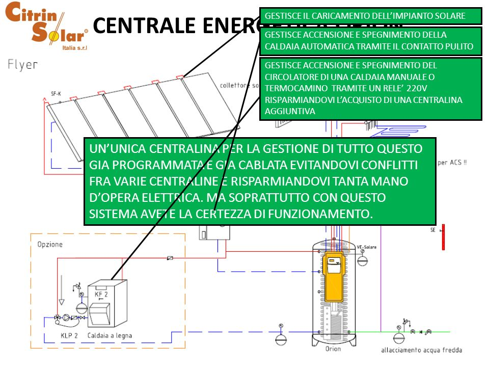 CENTRALE ENERGETICA ORION