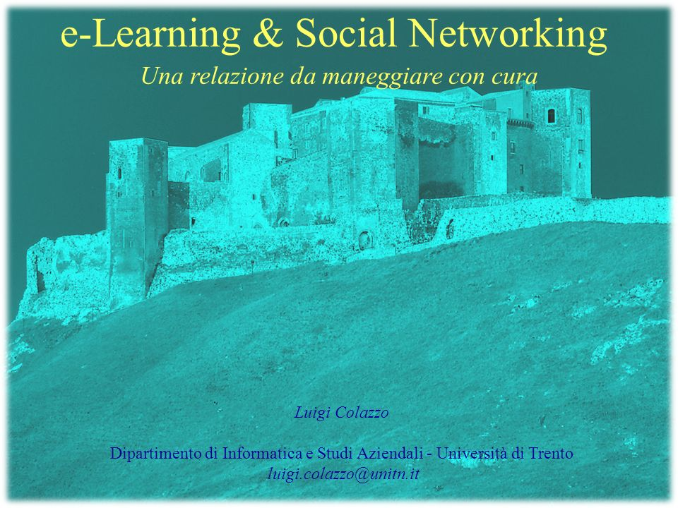 e-Learning & Social Networking