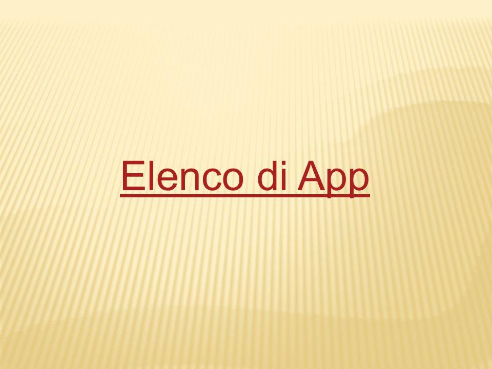 Elenco di App