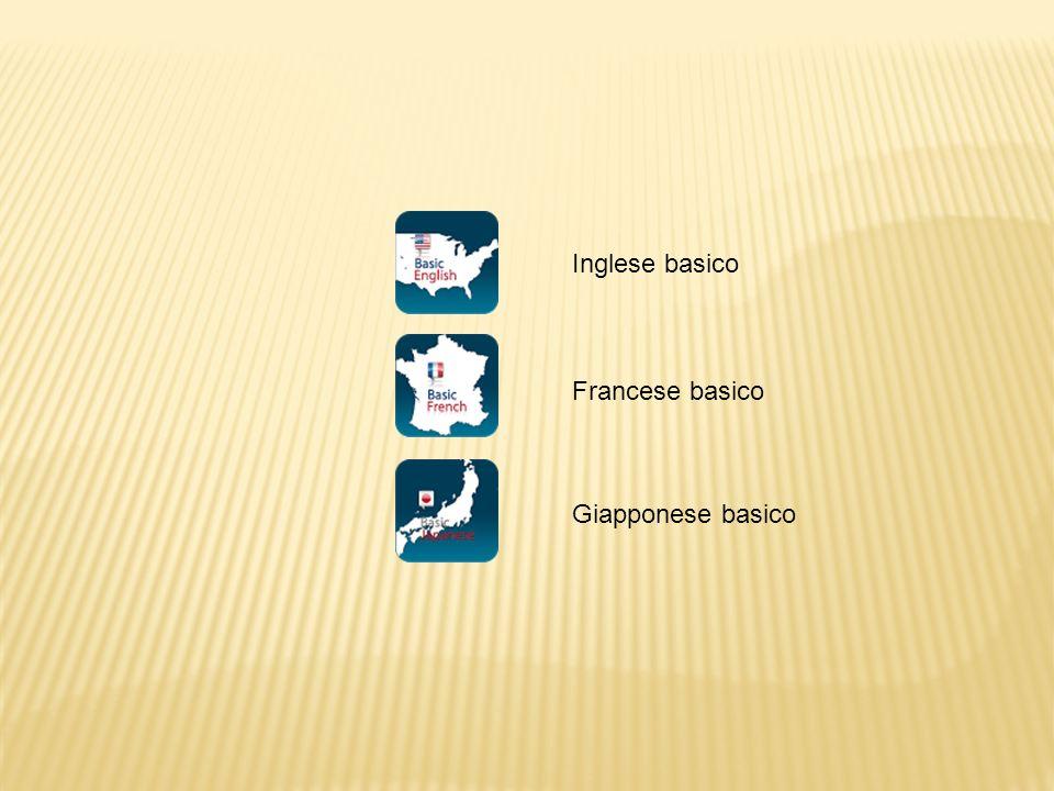 Inglese basico Francese basico Giapponese basico