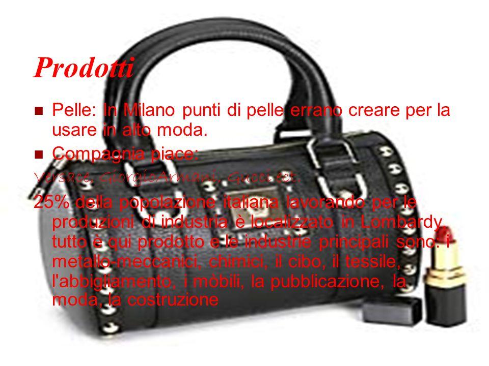 Prodotti Pelle: In Milano punti di pelle errano creare per la usare in alto moda. Compagnia piace: