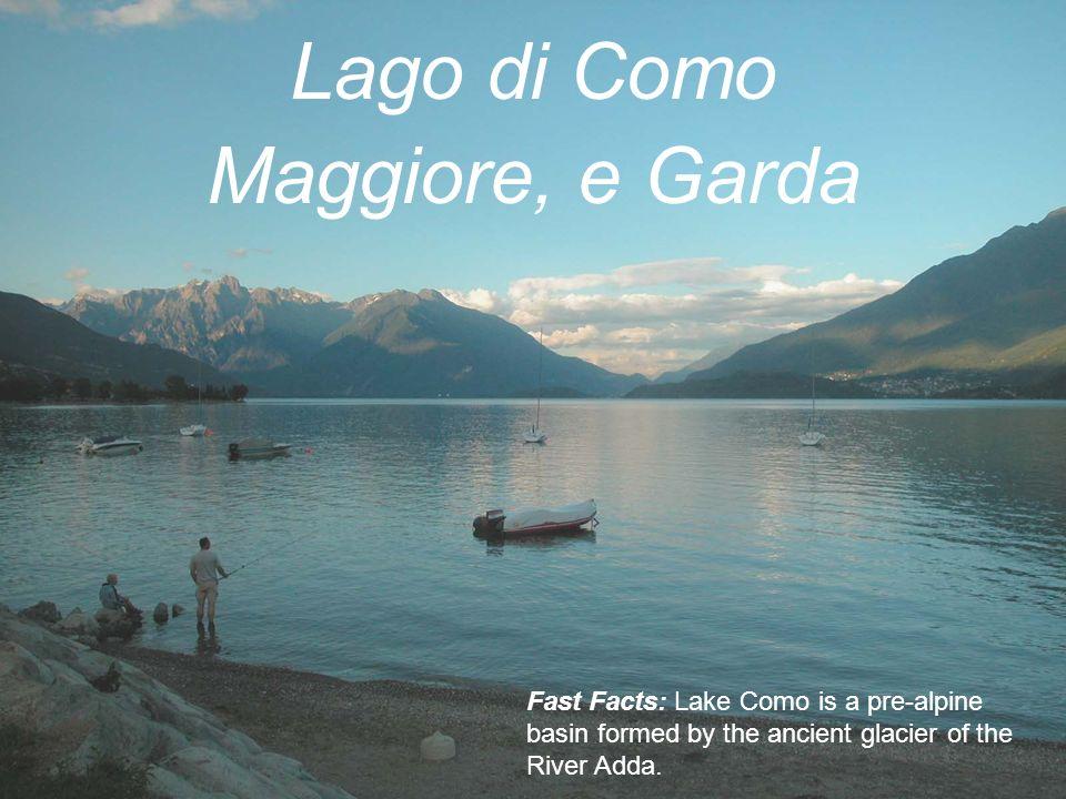 Lago di Como Maggiore, e Garda