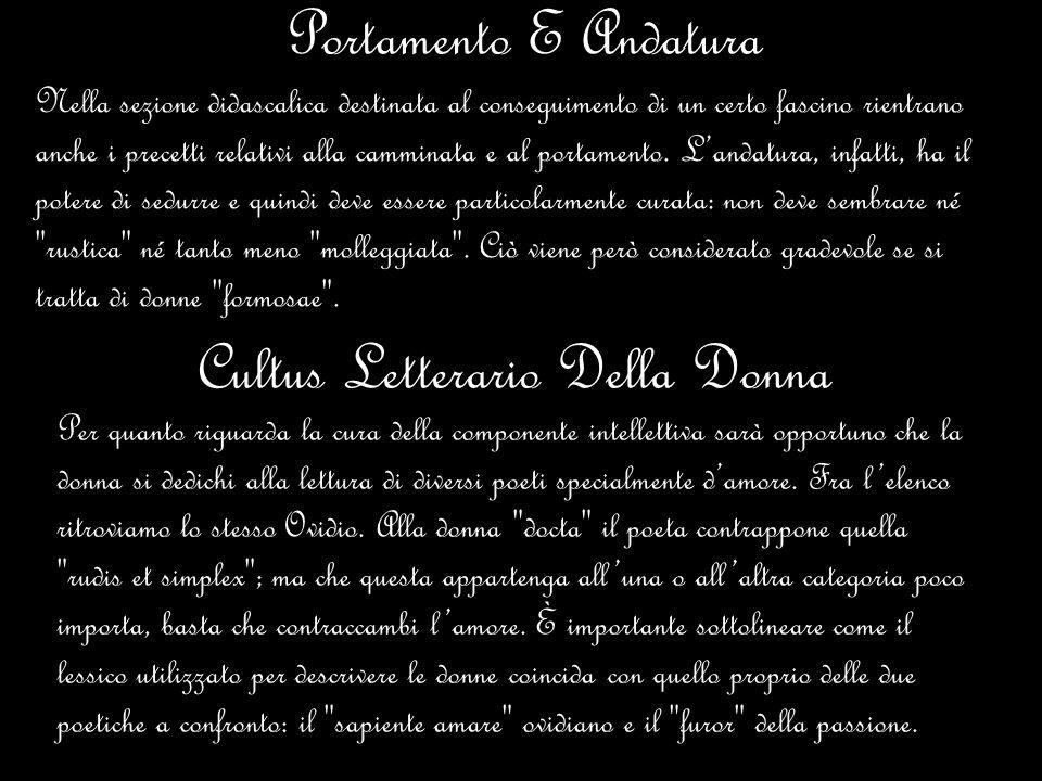 Cultus Letterario Della Donna