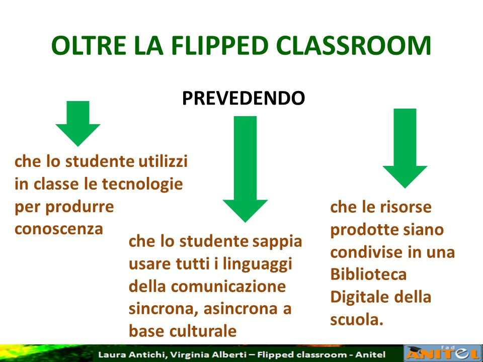 OLTRE LA FLIPPED CLASSROOM