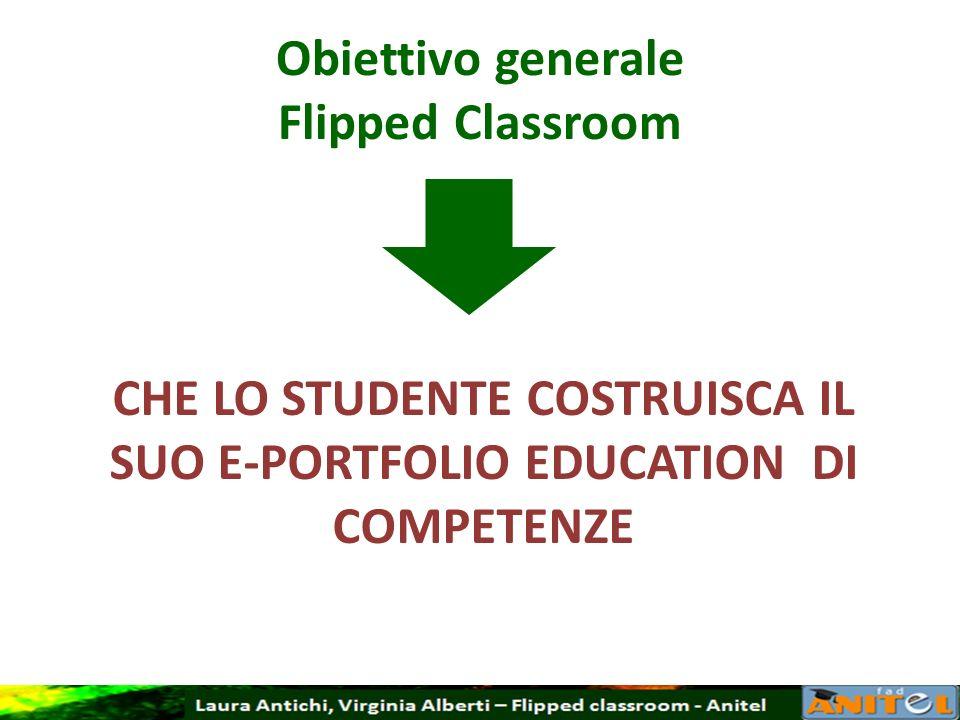 Obiettivo generale Flipped Classroom