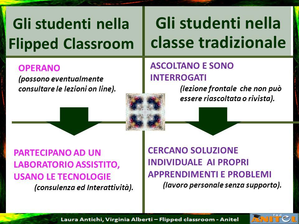 Gli studenti nella Flipped Classroom
