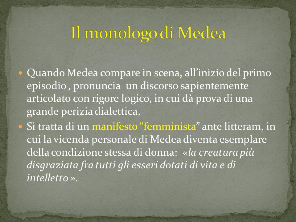 Il monologo di Medea