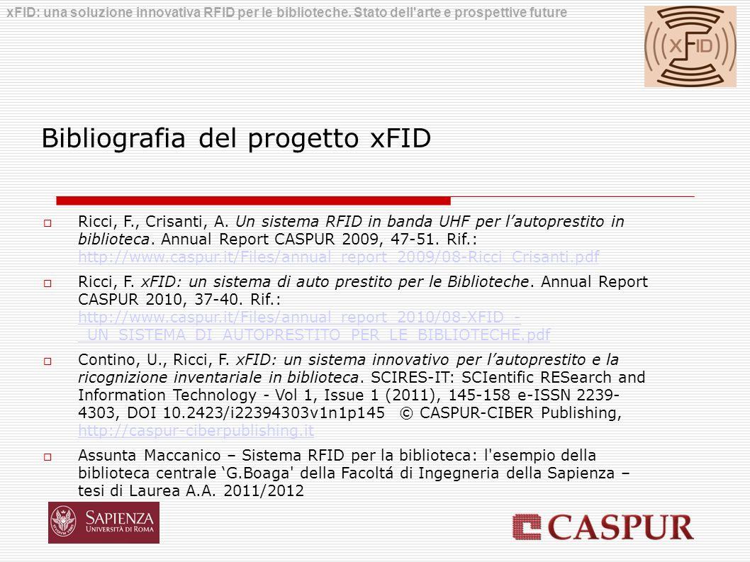 Bibliografia del progetto xFID
