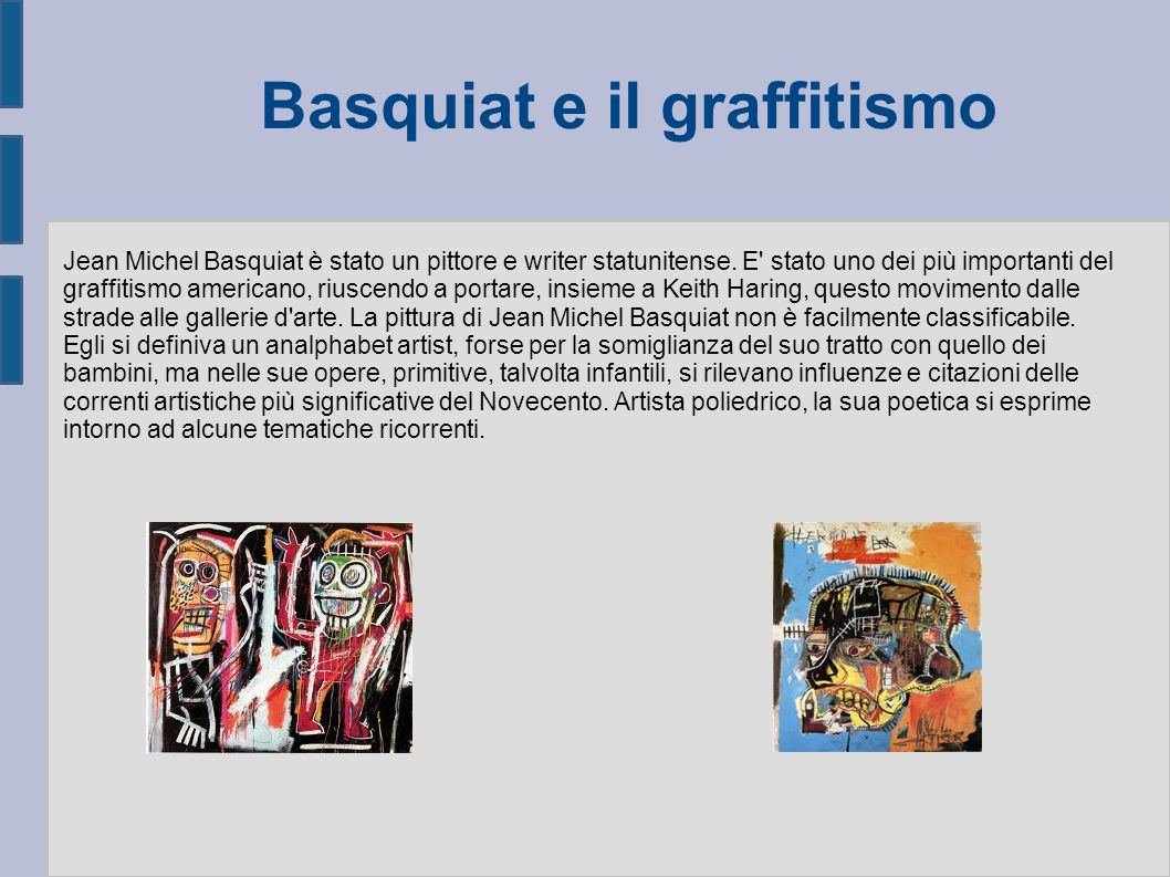 Basquiat e il graffitismo