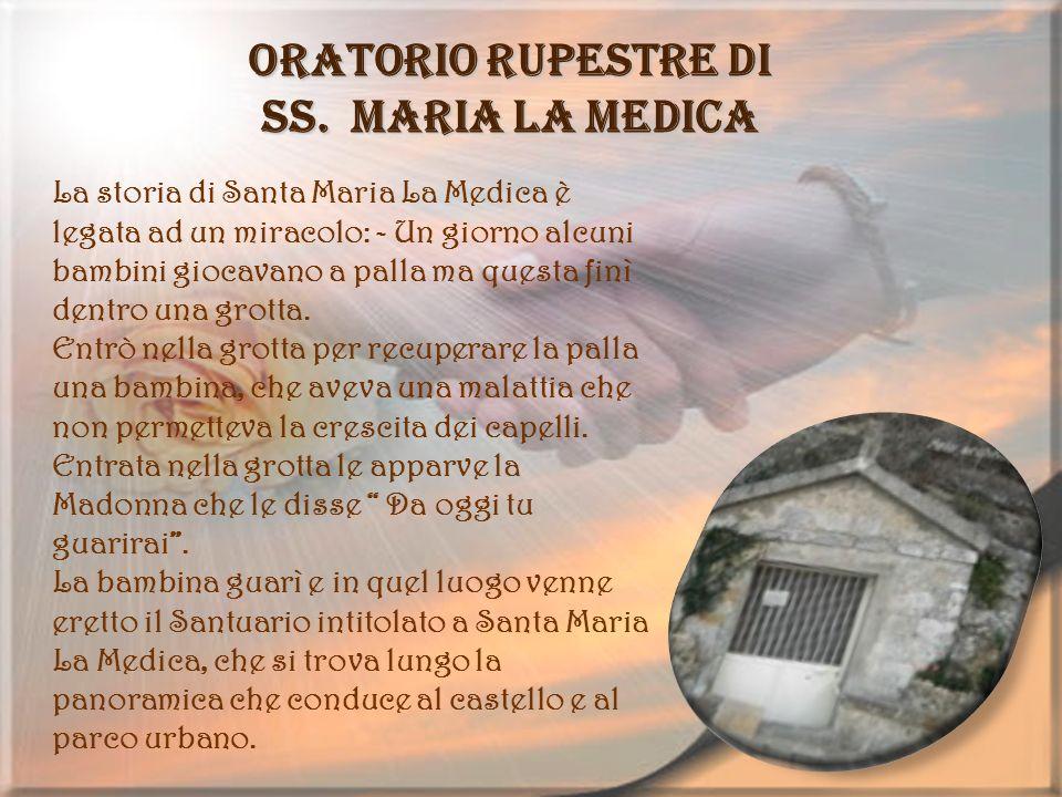 Oratorio rupestre di SS. Maria La Medica