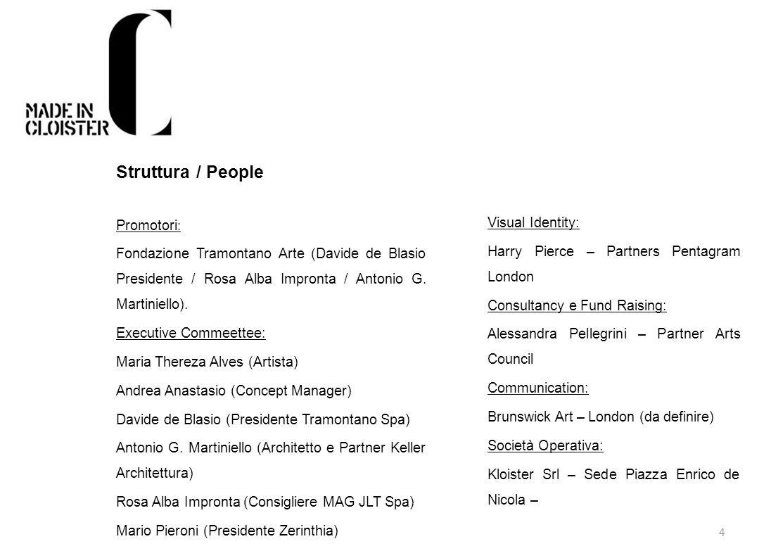 Struttura / People Promotori:
