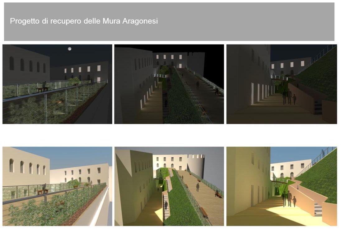 Progetto di recupero delle Mura Aragonesi