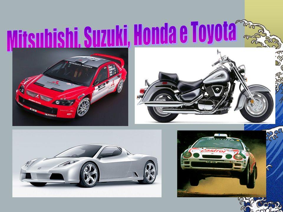 Mitsubishi, Suzuki, Honda e Toyota