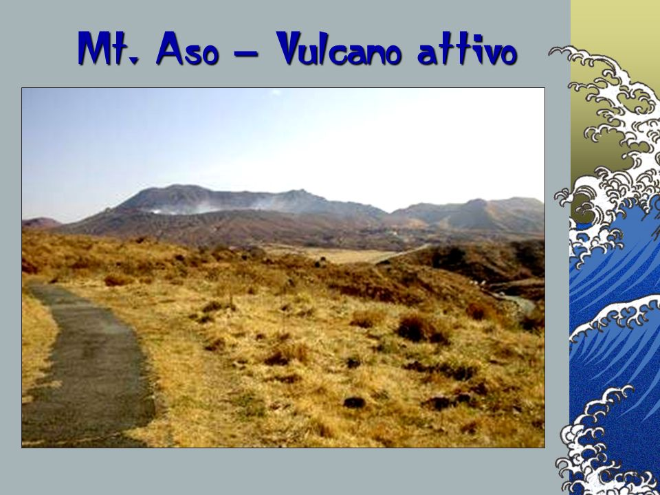 Mt. Aso – Vulcano attivo