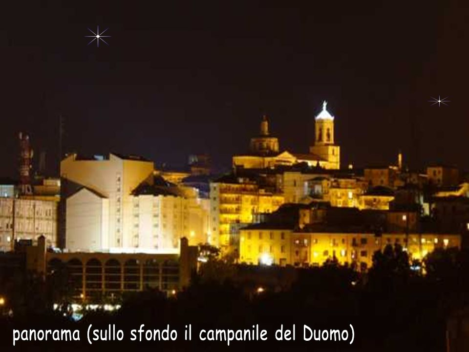 panorama (sullo sfondo il campanile del Duomo)