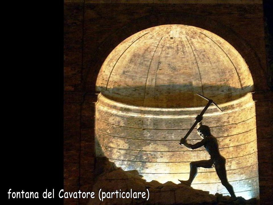 fontana del Cavatore (particolare)