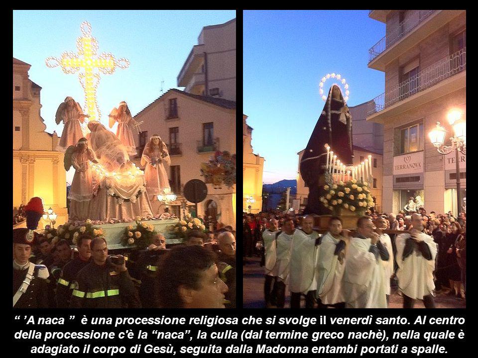 'A naca è una processione religiosa che si svolge il venerdì santo
