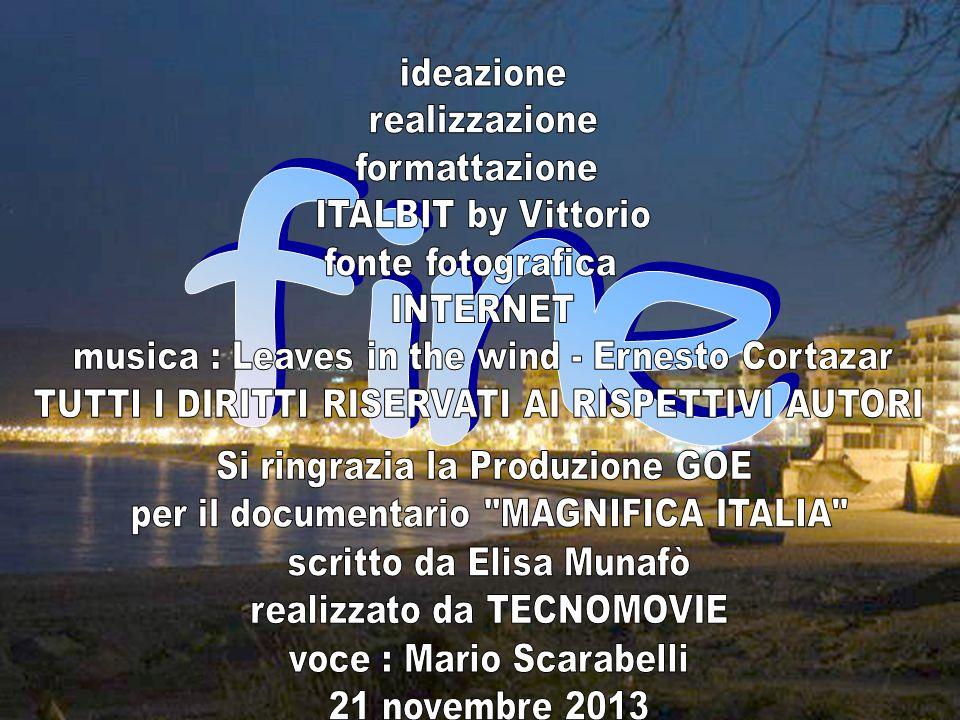 fine ideazione realizzazione formattazione ITALBIT by Vittorio