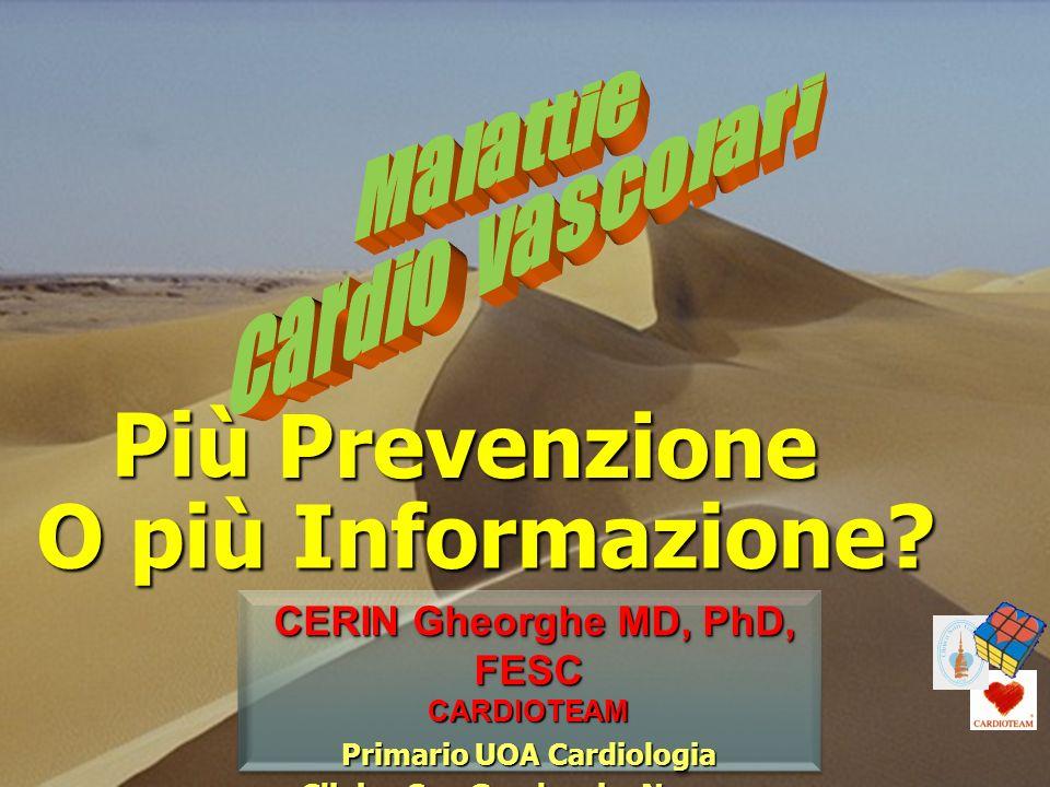 Prevenzione O più Informazione