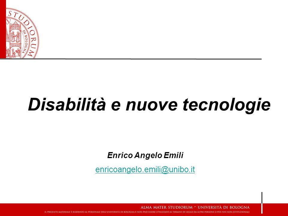 Disabilità e nuove tecnologie