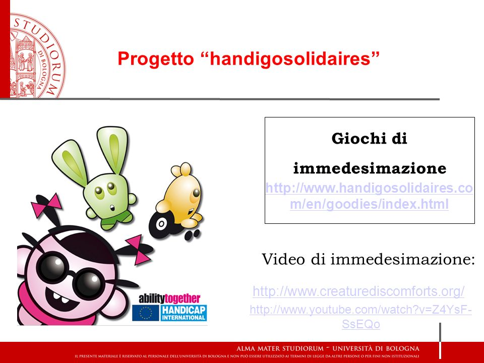 Video di immedesimazione: