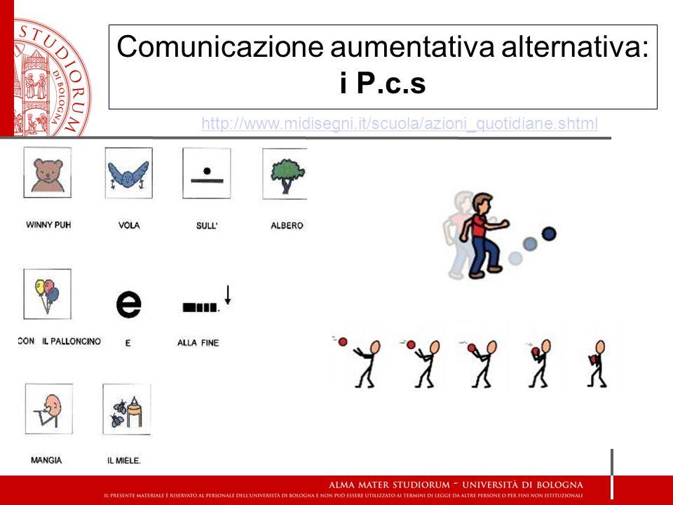 Comunicazione aumentativa alternativa: i P.c.s