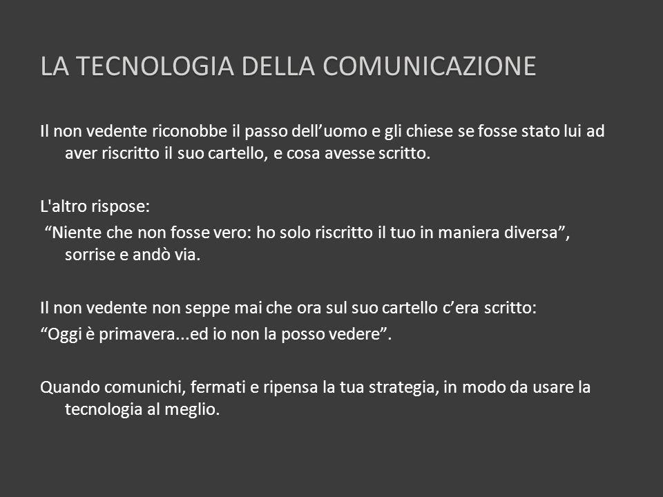 La tecnologia della comunicazione