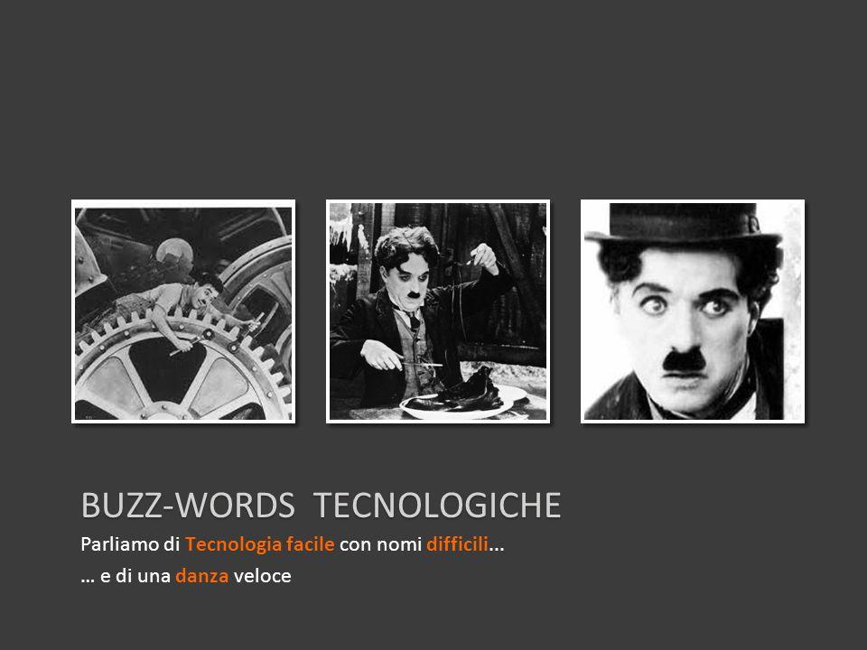 BUZZ-WORDS TECNOLOGICHE