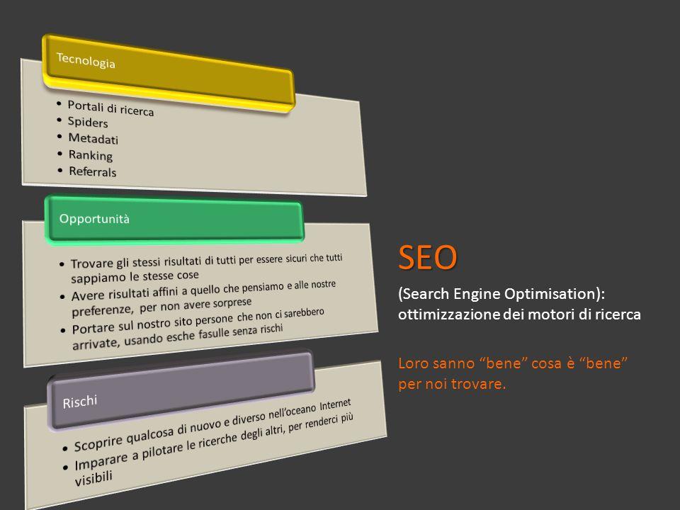 SEO (Search Engine Optimisation): ottimizzazione dei motori di ricerca