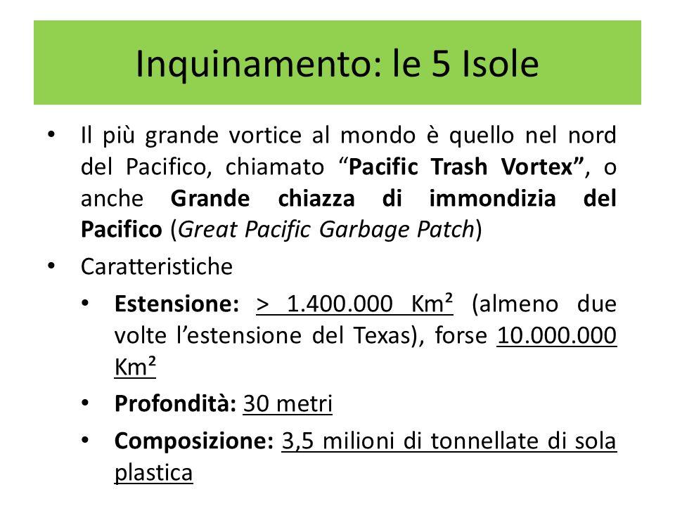 Inquinamento: le 5 Isole